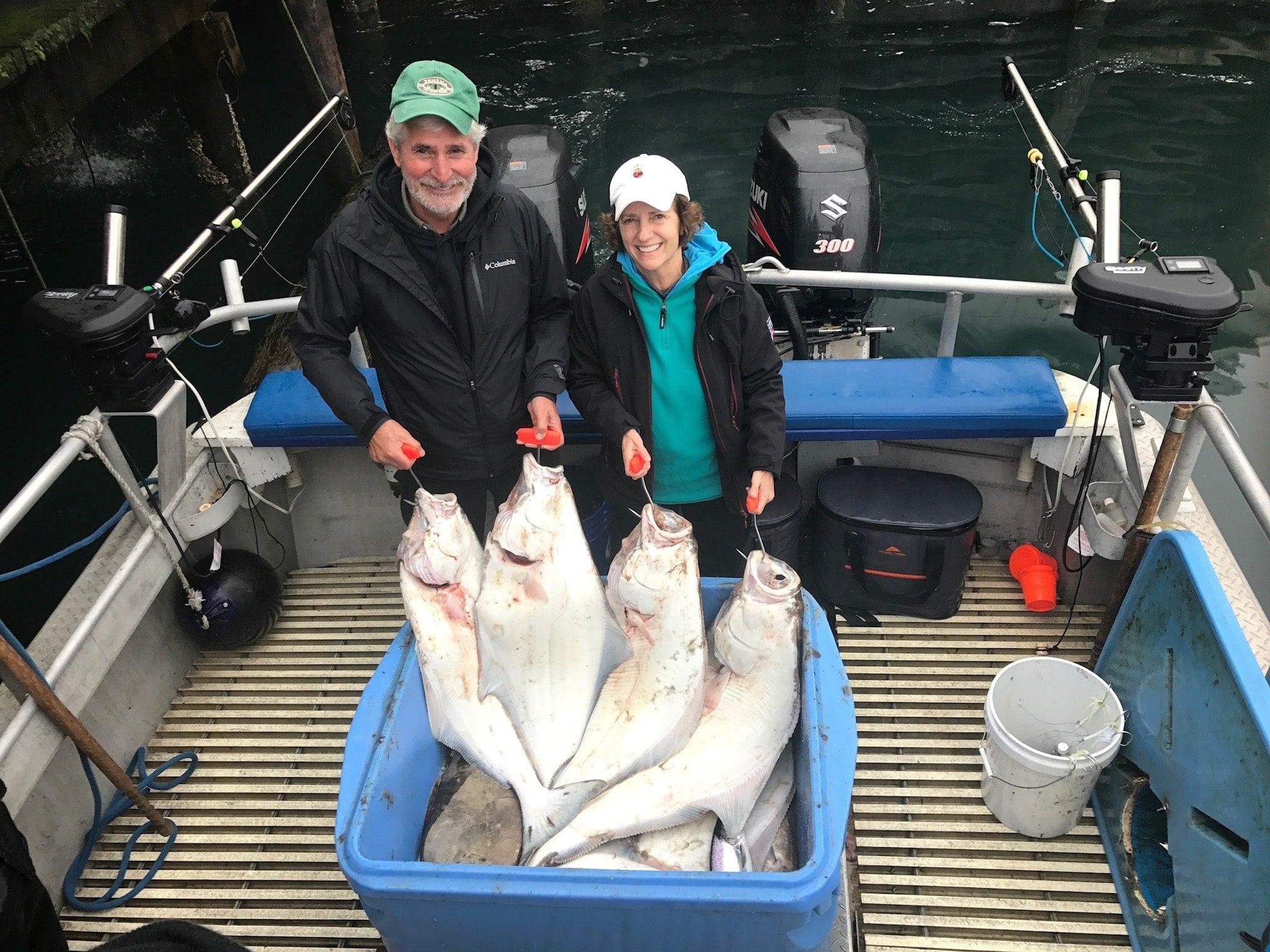Best Halibut Charter on Fish N' Chips Charters Kodiak Alaska